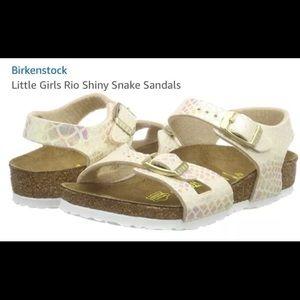 Birkenstockake Girls Rio Arizona Sandals Size C13